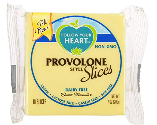 follow your heart provolone vegan cheese