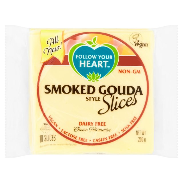 follow your heart smoked gouda vegan cheese