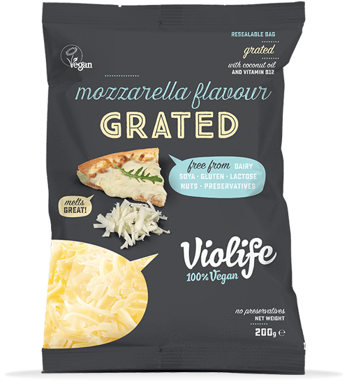 violife grated mozarella vegan