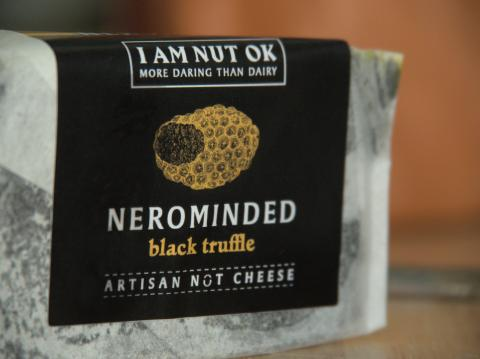 i am nut ok nerominded plant based vegan cheese review