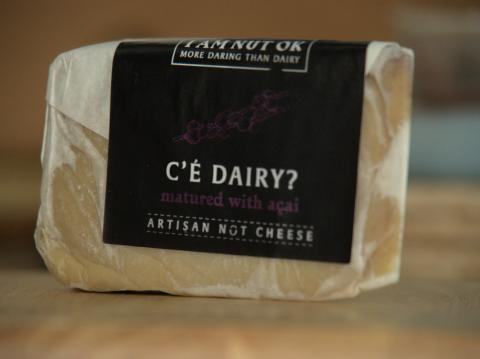 i am nut ok ce dairy vegan plant based cheese review