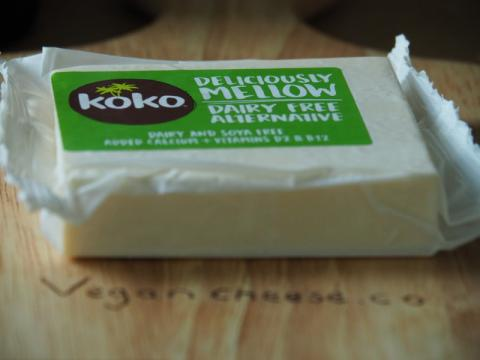 review of the koko deliciously mellow dairy free vegan cheddar cheese