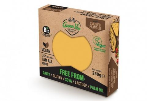 Green Vie Smoked Gouda Flavour Vegan Cheese Block