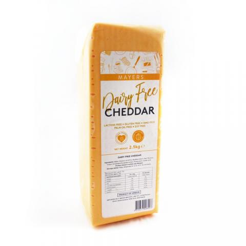 Mayers Dairy Free Vegan Cheddar Cheese