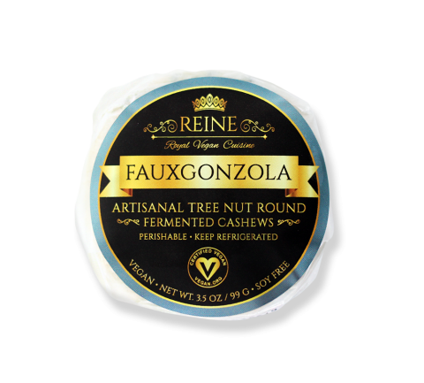 Reine Royal Vegan Cuisine Fauxgonzola Cheese Round