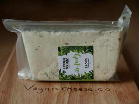 Vegan Cheese Review of the Strictly Roots Goatee