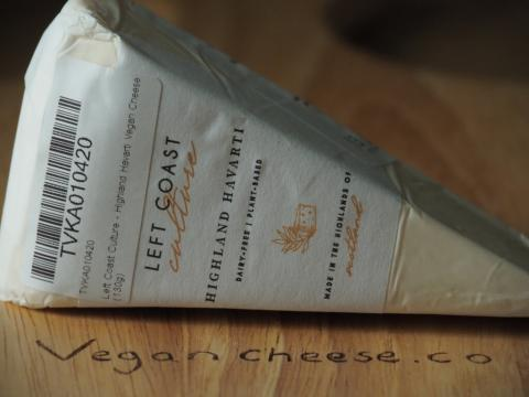 Review of the Left Coast Highland Havarti Vegan Cheese