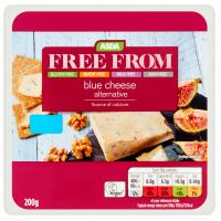 ASDA Free From Blue Cheese Alternative Vegan Cheese