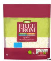 ASDA Free From Grated Mozzarella Alternative Vegan Cheese