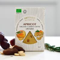 Artisan Raw Apricot with Baobab Vegan Cheese