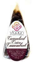 Vtopian Caramelized Onion Camembert Vegan Artisan Cheese