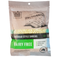 Dairy-Free Down Under Cheddar Style Shreds Vegan Cheese