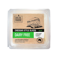Dairy-Free Down Under Cheddar Style Slices Vegan Cheese