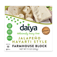 Daiya Jalapeno Havarti Style Vegan Cheese Farmhouse Block