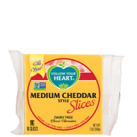 Follow Your Heart Medium Cheddar Vegan Cheese Slices
