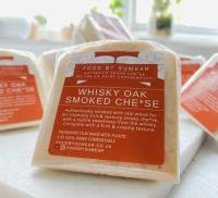 Food By Sumear Whisky Oak Wood Smoked Vegan Cheese