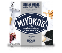 Miyoko's Black Ash Vegan Cheese Wheel