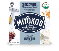 Miyoko's Double Cream Chive Vegan Cheese Wheel
