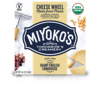Miyoko's Sharp Farmhouse Vegan Cheese Wheel