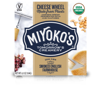 Miyoko's Smoked Farmhouse Vegan Cheese Wheel