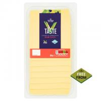 Morrisons Taste Free From Edam Vegan Cheese Slices
