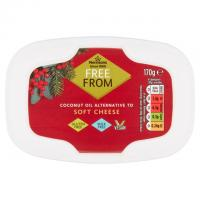 Morrisons Free From Original Soft Cheese Alternative Vegan Cheese