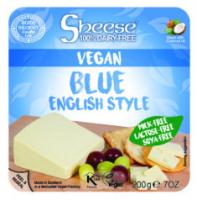 Sheese Blue English Style Vegan Cheese Wedge