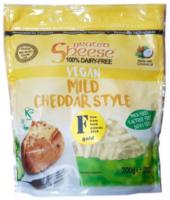 Sheese Grated Vegan Cheese Mild Cheddar Style