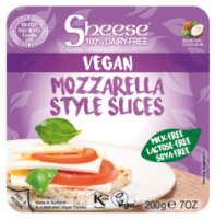 Sheese Mozzarella Style Vegan Cheese Slices