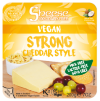 Sheese Strong Cheddar Style Vegan Cheese Wedge