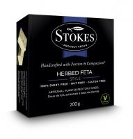 Stokes Herbed Feta Style Vegan Cheese