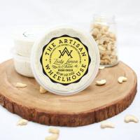 The Artisan Wheelhouse Zesty Lemon & Chive Cashew Vegan Cheese