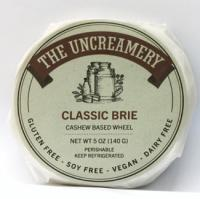 The Uncreamery Classic Brie Wheel Vegan Cheese