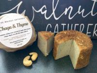 The Walnut Gatherer Mushroom and Thyme Vegan Cheese