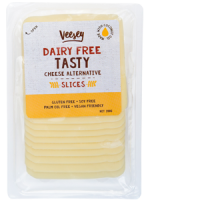 Veesey Dairy Free Tasty Vegan Cheese Slices