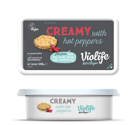 Violife Creamy with Hot Peppers Vegan Cheese