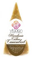 Vtopian Macadamia and Cashew Camembert Vegan Artisan Cheese