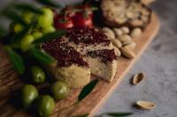 Wild Root Sumac & Fennel Vegan Cheese