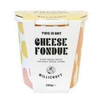 Willicroft Vegan Cheese This is Not Cheese Fondue