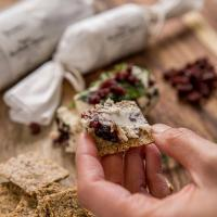 Yvonne's Vegan Kitchen Cranberry & Dill Vegan Goatless Cheese