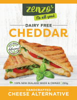 Zenzo Cheddar Alternative Vegan Cheese