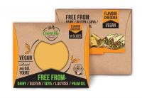 Green Vie Cheddar Flavour Vegan Cheese Slices