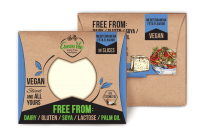 Green Vie Mediterranean Flavour Vegan Cheese Slices