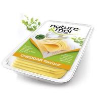 Nature & Moi Red Cheddar Vegan Cheese Slices