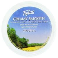 Tofutti Creamy Smooth Original Vegan Cream Cheese