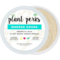 Plant Perks Smoked-Gouda Vegan Cheese Spread