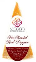 Vtopian Fire Roasted Red Pepper Vegan Artisan Cheese