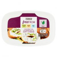 Tesco Free From Coconut Oil Alternative To Soft Vegan Cheese