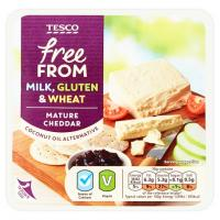 Tesco Free From Alternative To Mature Cheddar Vegan Cheese