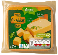 Vemondo Cheddar Style Vegan Cheese